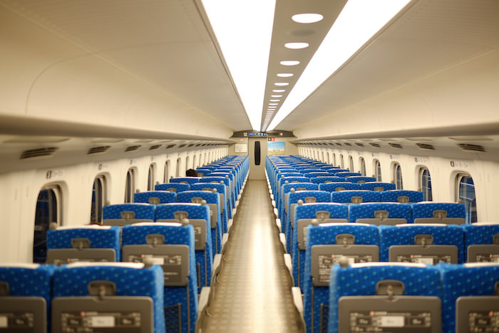 新幹線の車内環境