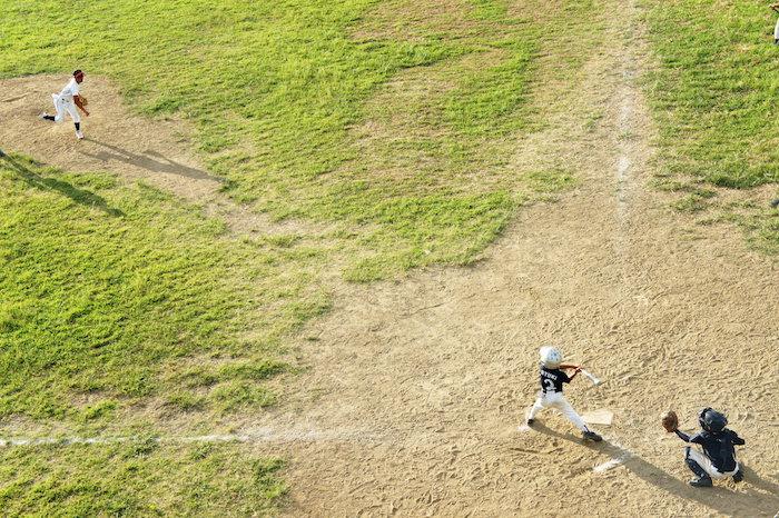 20年ぶりの野球少年へ