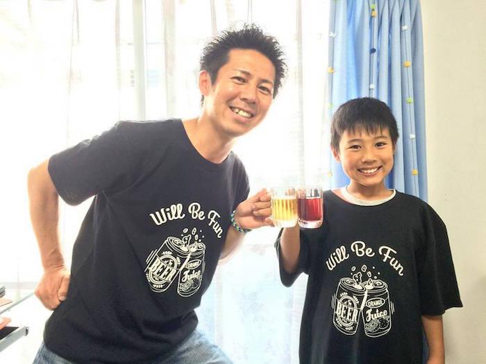 JAMMIN×ファザーリング・ジャパンによるコラボTシャツ