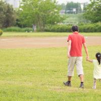 公園はお父さんのたまり場?
