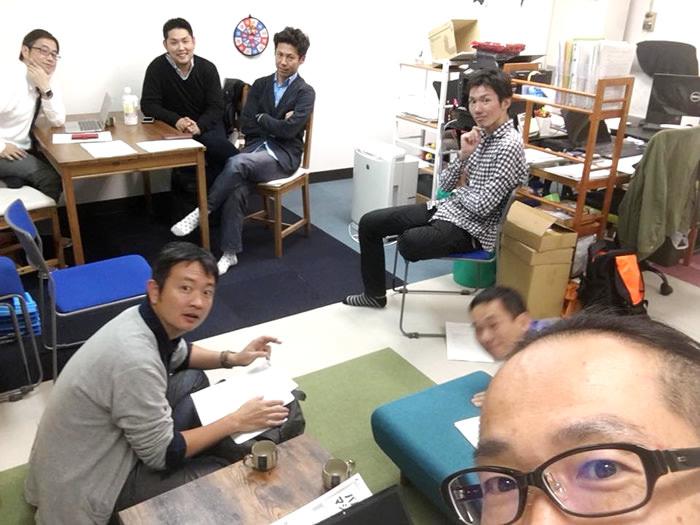 新オフィスでの理事会もすっかり慣れました