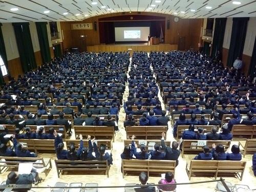 県立西宮高校「インスパイアハイスクール講演会」