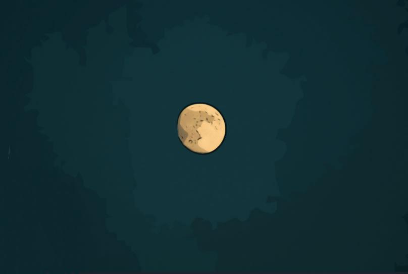 265年に一度の皆既月食!?