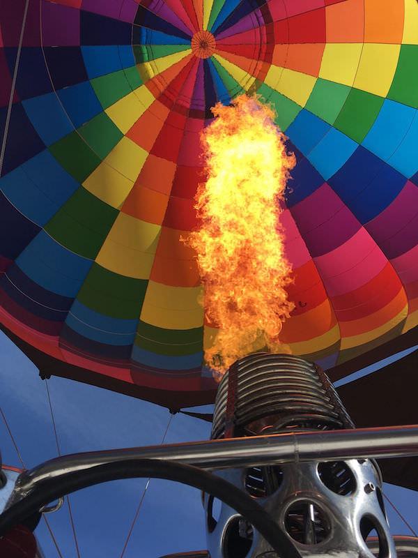気球は燃費が悪いらしい